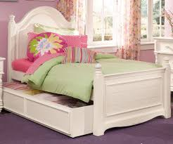 Bedroom Ideas Purple Carpet Hannah White Twin Trundle Bed Large Flower Round Pillow Colorful