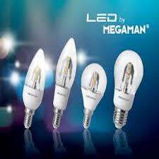 Led Light Bulbs Lumens by Megaman 3 2 Watt E14 Filament Candle Shaped Led Bulb 250 Lumens