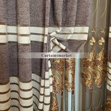 luxury bedroom curtains bedroom curtains of chenille of embroidery craftsmanship