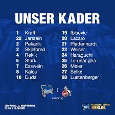 Dak Bad Homburg Hertha Bsc On Twitter
