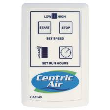 silent whole house fan wireless two speed remote control with timer centricair