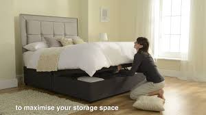 silentnight ottoman beds at dreams youtube