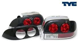 1994 mustang tail lights 1994 1995 ford mustang tail lights paint ready black or carbon fiber