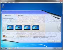 desktop background wallpaper change in windows 7 starter
