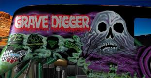 grave digger monster truck fabric 3d model grave digger monster truck cgtrader