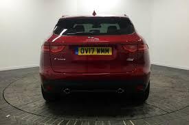 jaguar f pace trunk used 2017 jaguar f pace 2 0d 240 r sport 5dr auto awd for sale