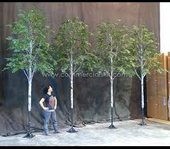 fabricated birch tree paper birch commercial silk intl