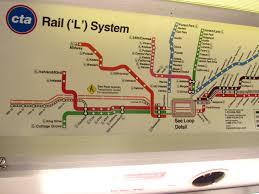 Cta Map Chicago Cta Map Red Line Kemerovo Me