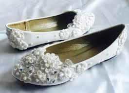 white wedding flats bridal ballet shoes comfortable flats shoes