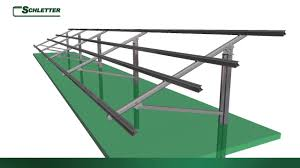 Mounting System Schletter Fs Ground Mounting System Youtube