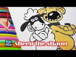 shaun sheep coloring game colouring games shaun