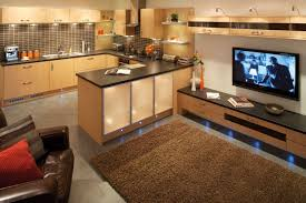 open plan kitchen diners built in seating and living rooms home