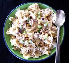 tuna pasta salad with lemon and garlic aioli recipe adaptors