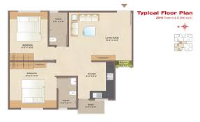 typical floor plan fortune greenfields 2 bhk 3 bhk apartments 4 bhk duplex