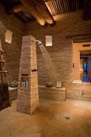 Stone Tile Bathroom Ideas by Stone Tile Bathroom White Uneven Stone Wall Tile Square Floor
