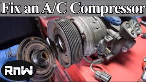 lexus sc300 ac recharge how to diagnose and replace an a c compressor coil clutch and