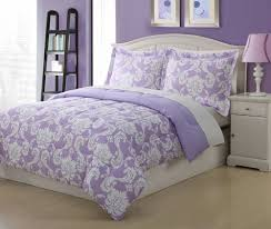 purple and gray bedding full microfiber kids dainty bedding