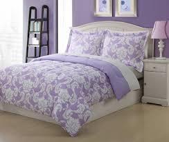 Purple And Gray Comforter Purple And Gray Bedding Full Microfiber Kids Dainty Bedding