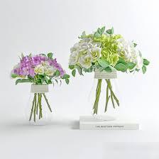 3d Flower Vase Modern Flower Arrangements 3d Model 3ds Max Files Free Download