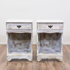 nightstands industrial chic nightstands shabby chic cottage