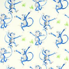 cheeky monkey wallpaper at laura ashley