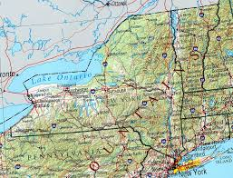 map new york state new york maps perry castañeda map collection ut library