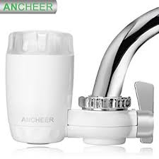 kitchen faucet water purifier amazon com ancheer kitchen faucets water filter ceramic material
