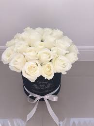 roses delivery 25 white roses box roses in box roses delivery miami