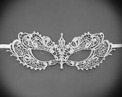 white masquerade masks for women masquerade mask etsy