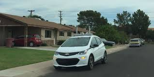 funny small cars gm bolts now driving themselves around scottsdale