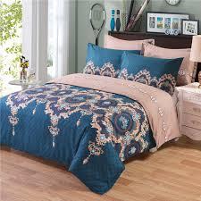 King Quilt Bedding Sets Print Comforter Bedding Sets Quilt Bed Pillow Duvet Cover Set