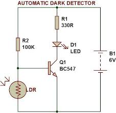 Solar Street Light Wiring Diagram - solar powered led light circuit diagram and schematic design