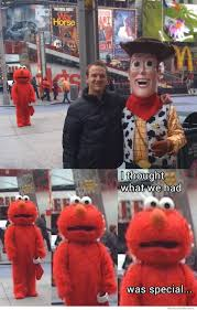 Elmo Meme - heartbroken elmo weknowmemes
