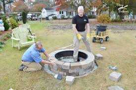 Firepit Kit Our New Belgard Outdoor Pit Cottage At The Crossroads