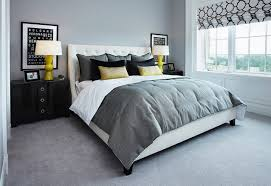deco chambre jaune et gris idées déco pour une chambre jaune et grise la deco gris et