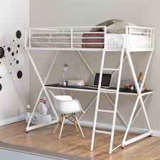 white girls bunk beds bedroom l shaped white girls bunk bed with steps and chest of