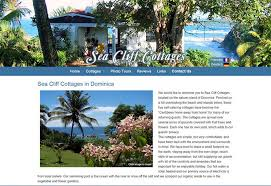 Sea Cliff Cottages Dominica by Bayberry Lane Designs Website Development And Design