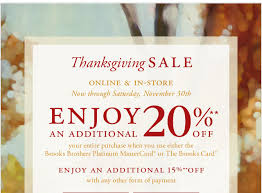 brothers enjoy up to 20 during our thanksgiving sale