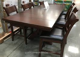 awesome 9 piece counter height dining room sets photos home