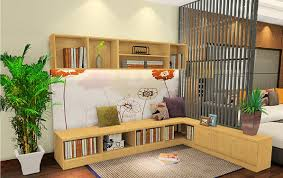partition designs between living study room interior design
