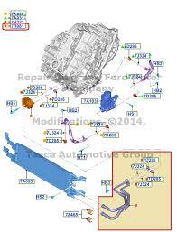 2014 ford fusion transmission oem ecvt transmission fluid cooler 2013 2014 ford fusion