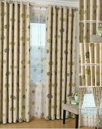 Bedroom Curtain Design Blue Floral Curtains Red Pink Yellow Black Green Vintage