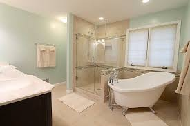 bathroom designs with clawfoot tubs clawfoot tub and oversized shower bathroom remodel with clawfoot