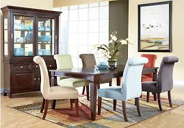 shop for a cindy crawford home lakeshore slate 5 pc dining room at