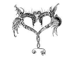 heart tattoos u2013 my tribal ink