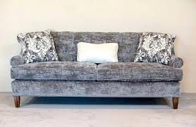 tufted couch sectional sofa uk with chaise blue living room