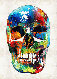 sugar skulls for sale colorful skull aye candy by painting by