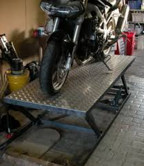 Motorcycle Bench Lift Motorcycle Lift Table Hydraulic Complete With Wheel Clamp