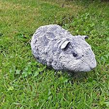 steinfigur guinea pig rodent proof animal garden ornament in