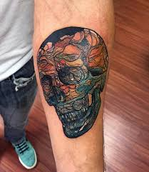40 small colorful tattoos for men vivid ink design ideas